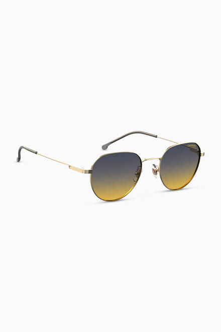 hover state of 2015T/S Pilot Sunglasses in Metal