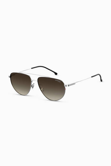 hover state of 2014T/S Aviator Sunglasses in Metal