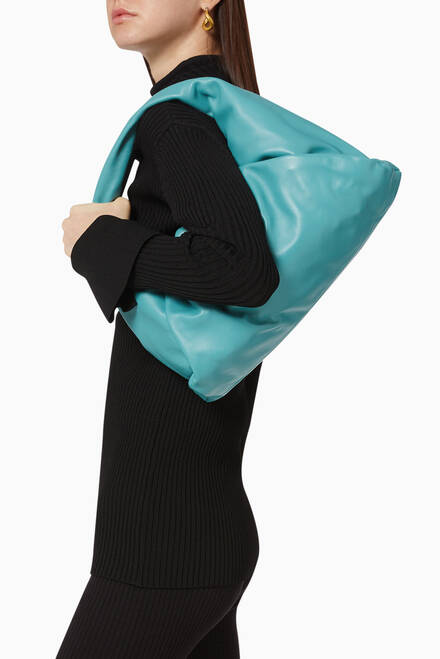 hover state of The Shoulder Pouch in Nappa Calfskin
