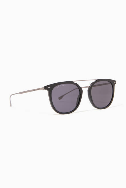 hover state of Aviator Sunglasses in Acetate & Metal
