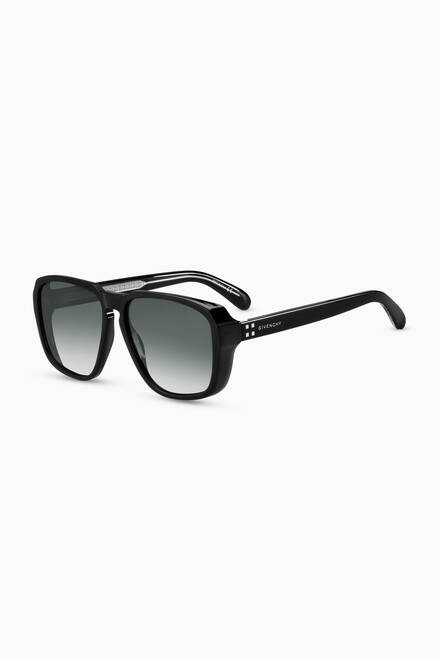 hover state of Aviator D Frame Sunglasses
