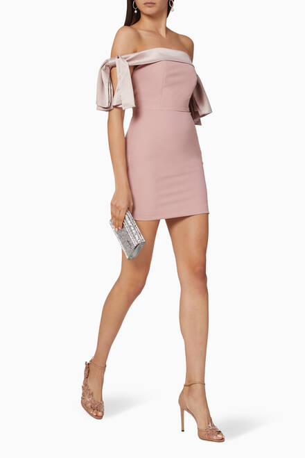 hover state of Ruby Holley Bardot Dress