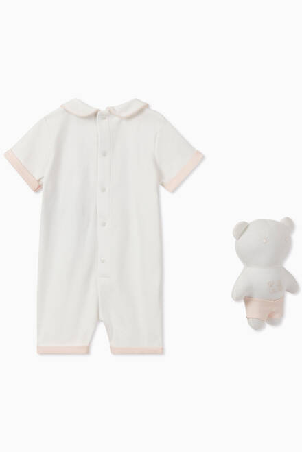 hover state of EA Manga Bear Jumpsuit & Toy Set
