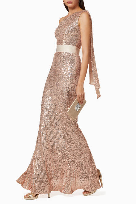 hover state of Aria Sequin Dress