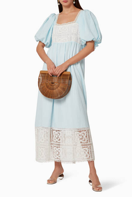 hover state of Lace Cotton Dress