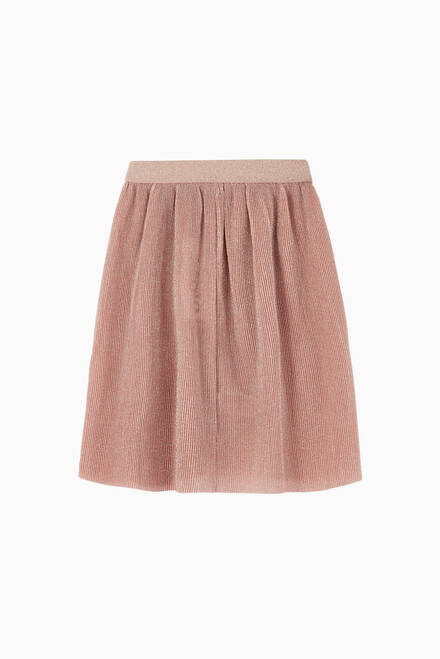 hover state of Bailini Pleated Lurex Skirt