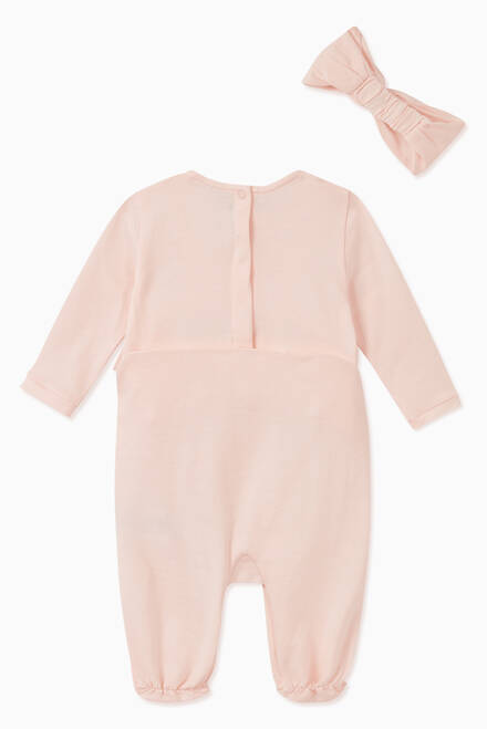 hover state of Bow Pajama & Headband Set