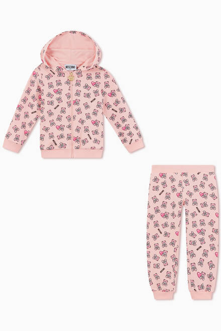 hover state of Teddy Bear Heart Tracksuit