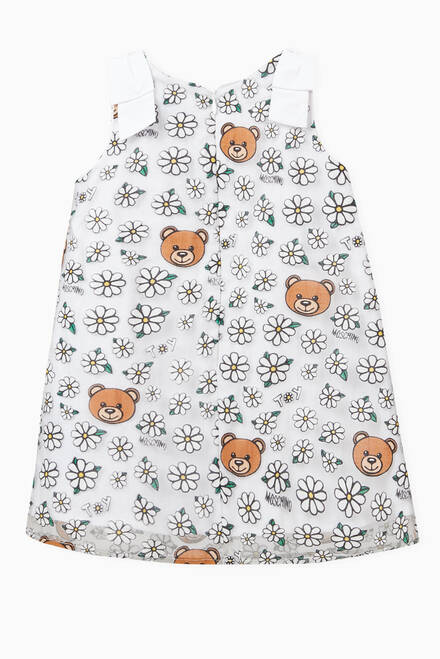 hover state of Daisy Teddy Bear Dress in Cotton Blend