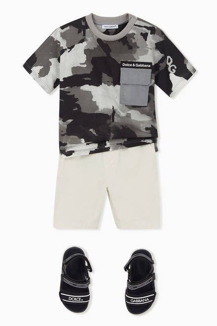 hover state of Camouflage Graphic T-Shirt