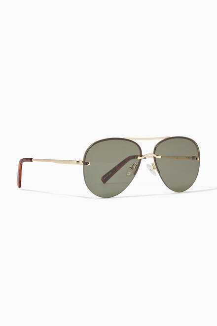hover state of Panarea Aviator Sunglasses