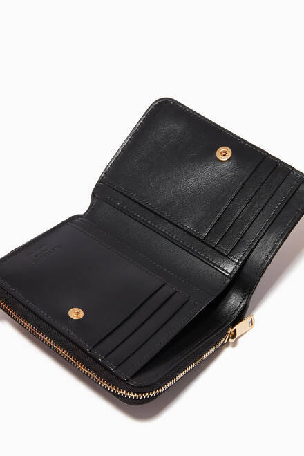 hover state of Monogram Wallet in Y-Quilted Leather