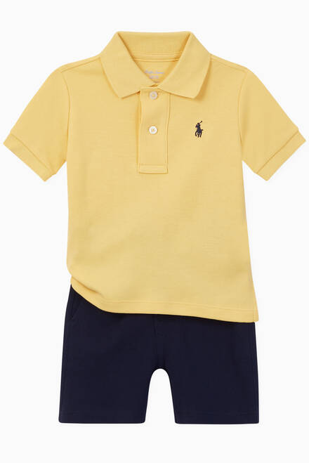 hover state of Cotton Jersey Polo
