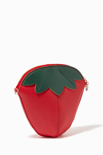 hover state of Strawberry Shoulder Bag