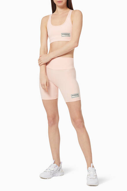 hover state of Softskin Recycled Biker Shorts
