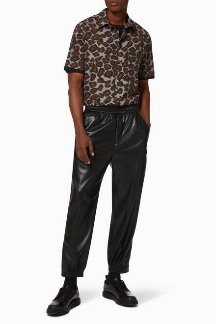 hover state of Goro Vegan Leather Pants