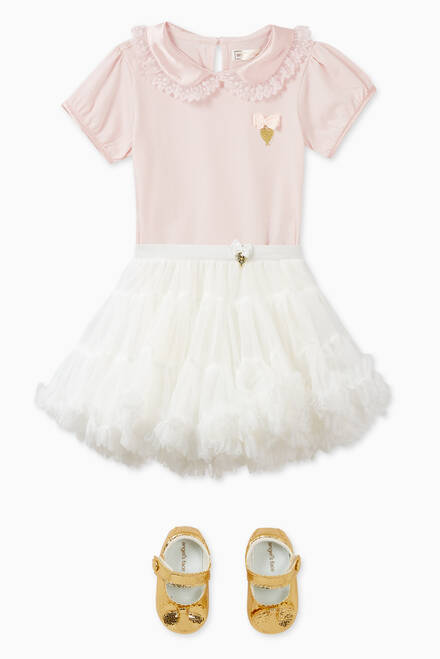 hover state of Olivia Babygrow Dress