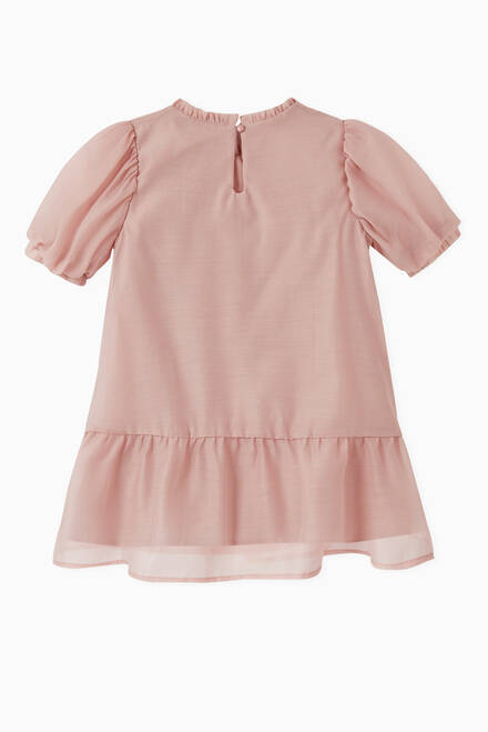 hover state of Ruffle Dress in Organic Cotton