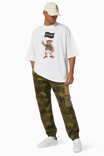 hover state of Pirate Bear Oversized T-shirt in Cotton