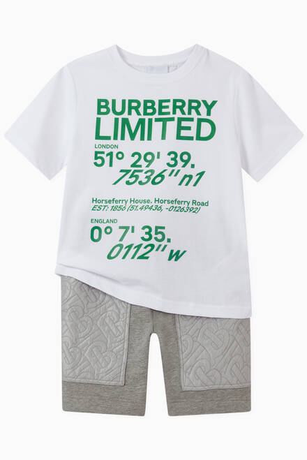 hover state of T-shirt with Coordinates in Cotton