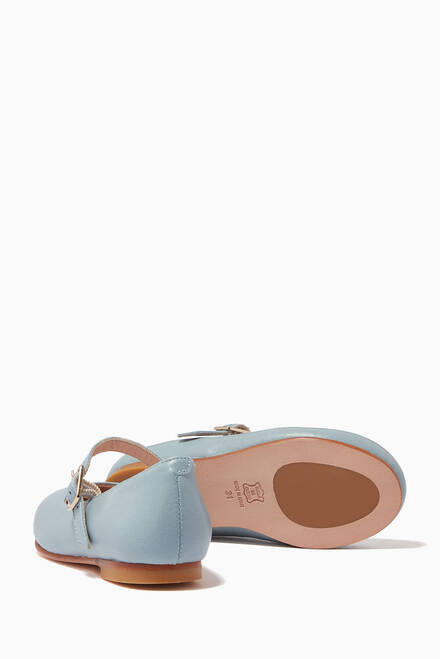 hover state of Penelope Andriatico Ballerinas in Leather