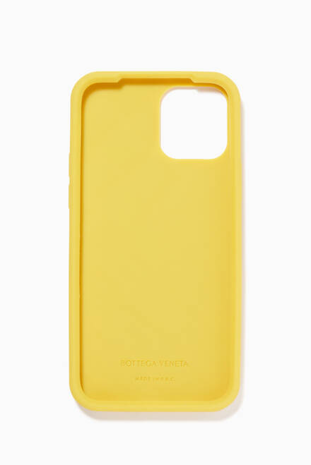 hover state of iPhone 12 Pro Case in 3D Intarsio Rubber