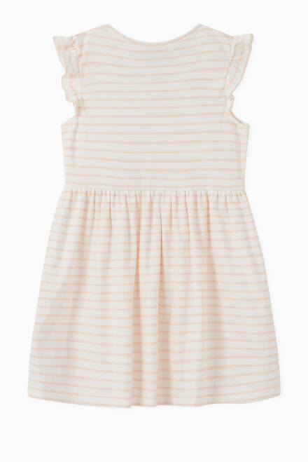 hover state of Stripes Bow Dress in Cotton