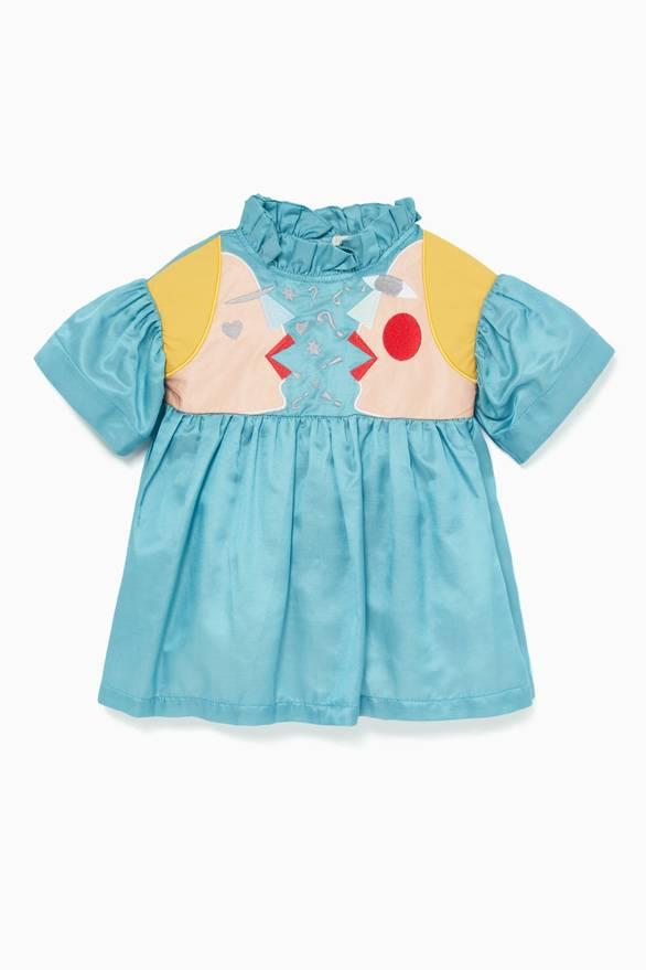 58c2a9269 NEW SEASON. Raspberry Plum. Blue Cissy Dress with Bloomers