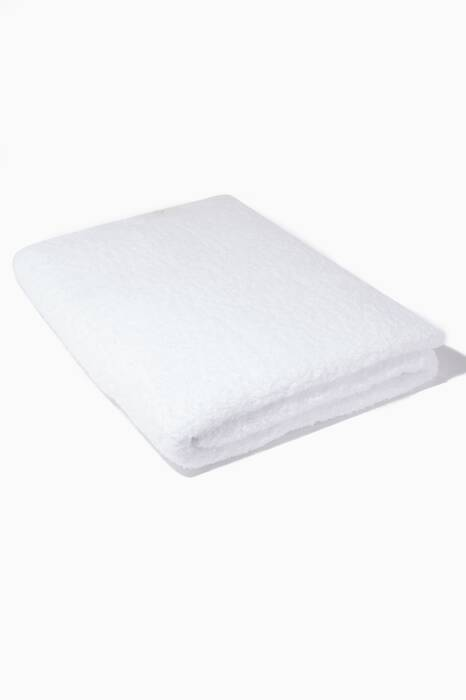 White Super Pile Bath Sheet