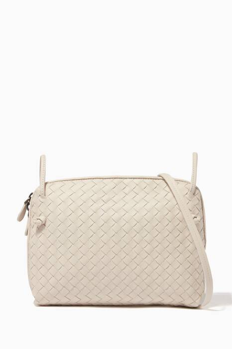 Mist Small Double Zip Knot Messenger Bag