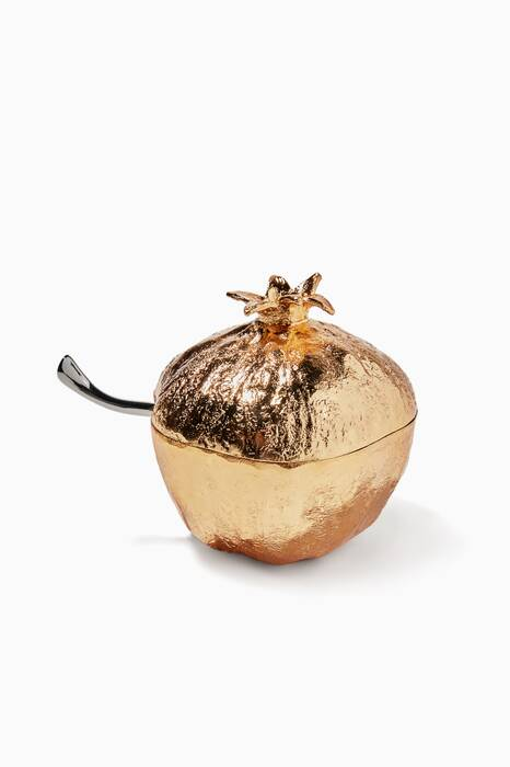 Pomegranate Mini Pot With Spoon