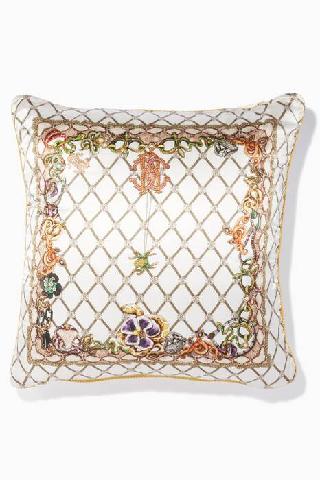 White Spider Cushion