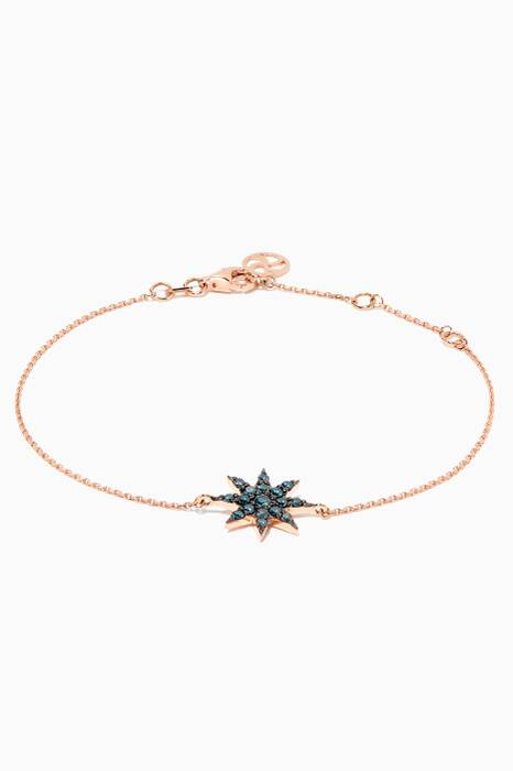 Rose-Gold & Venus Star Diamond Bracelet