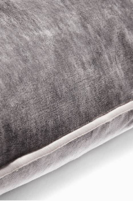 Grey Vice Versa Royal Velvet Cushion