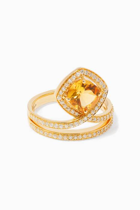Yellow-Gold Valentine Ring