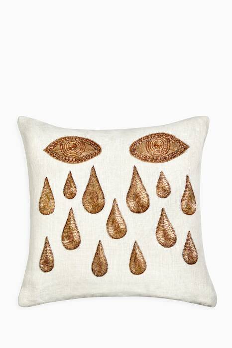 White Muse Tears Pillow