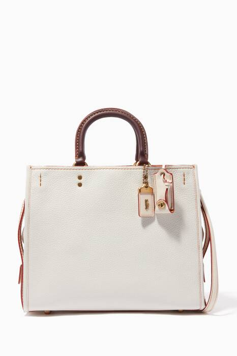 Chalk-White Rogue Shoulder Bag