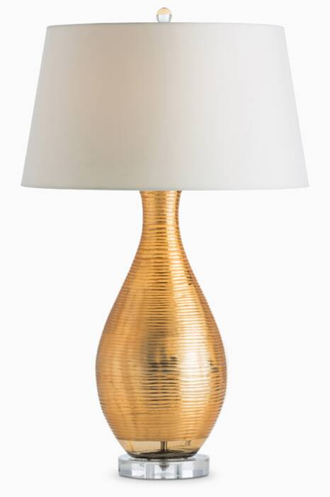White Ridley Table Lamp