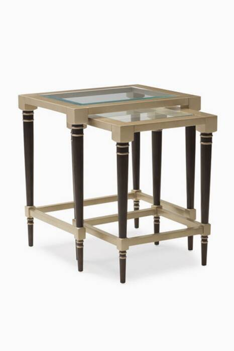 Bronzed-Ebony The Everly Nesting Tables