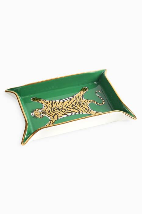 Green Valet Tiger Tray