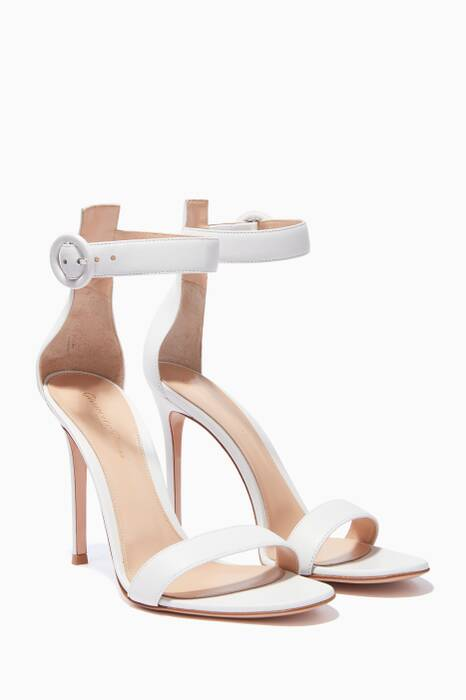 White Portofino 105 Sandals