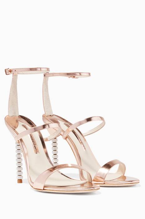 Rosalind Rose-Gold Sandals