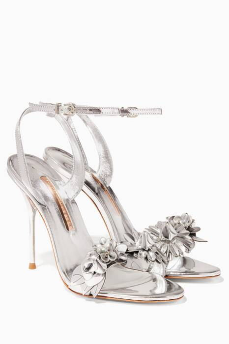 Silver Lilico Leather Sandals
