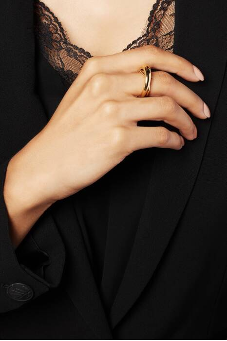 Gold Unchained Ring