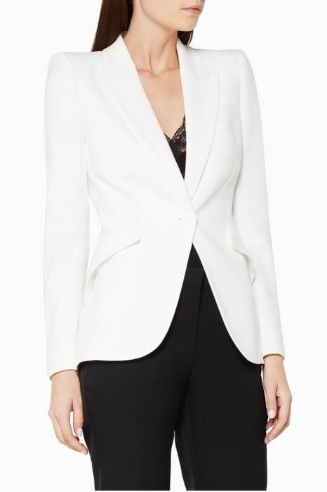Ivory Peak Shoulder Jacket