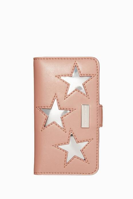 Pink And Silver Star Phone® 6 Cover