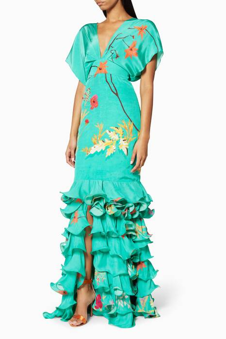 Floral Caribe Dress