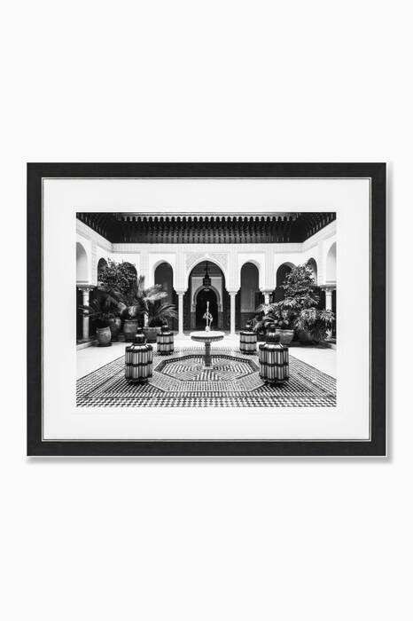 Marrakech Courtyard Print