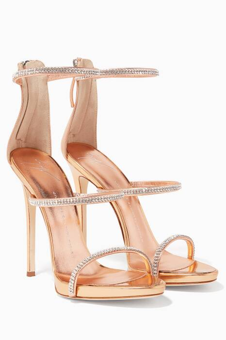 Gold Harmony Sparkle Sandals