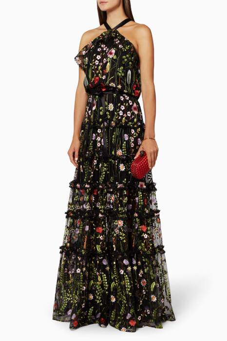 Floral Embroidered Glory Dress